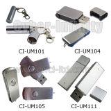 De Aandrijving van de Flits van het metaal USB (REEKS ci-UM)