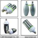 Luminous Flux 14000lm, CRI> 80, 140lm / W Ângulo de feixe 360 graus, substitui as lâmpadas de milho LED Halide / HPS 100 Watt