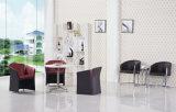 受信のためのビニールのオフィスのソファーの椅子