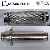 Máquina higiénica del filtro de la leche de la categoría alimenticia del acero inoxidable