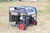 100% 구리 발전기를 가진 사용 가솔린 휘발유 발전기가 5kw에 의하여/5000W는 집으로 돌아온다