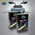 自動最もよいコーティングの優秀な金属効果のブランドのスプレー車のペンキ