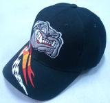 Дешевая бейсбольная кепка с 3D логосом Bb215