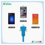 Nuovo cavo del telefono mobile della parte girevole con velocità veloce e basso costo (WY-CA37)