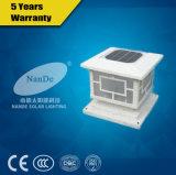 2017 최신 판매 LED 태양 포스트 빛
