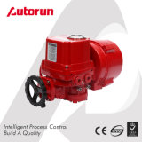 Actuator van de Klep van het aluminium 24V gelijkstroom Elektrische