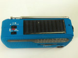 Socket USB 3 LED Solar Torch Radio