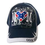 Gorra de béisbol caliente de la venta con la insignia del bordado (6P1108)
