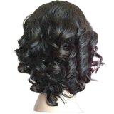 Pelucas llenas delanteras del cordón de Glueless del pelo humano de las pelucas del cordón