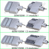 Openbaar Luminaire van de Bestuurder van Meanwell van de LEIDENE Spaander CREE van de Straatlantaarn IP65 Ik10 30W-300W Ce UL SAA