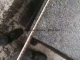 舗装するか、のための炎にあてられたPadangの暗いG654花こう岩のタイルまたは床または壁または庭