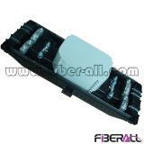 Encierro aéreo del empalme de la fibra para el máximo 288cores del cable óptico de la cinta