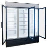 Refrigerador do indicador da bebida/refrigerador indicador das bebidas/refrigerador comerciais indicador do supermercado