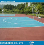 体操のゴム製床張りの/Playgroundのゴム製床タイルのゴム製体操のマット