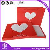 クラフト紙A4のサイズのペーパーFoldable包装のギフト用の箱