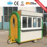 Chariot électrique de nourriture de 3 roues