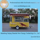 Remorque mobile promotionnelle de bonne qualité de nourriture à vendre