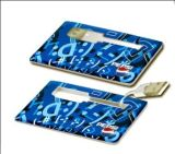 Kundenspezifisches Kreditkarte USB-Blinken-Laufwerk (OM-P501)