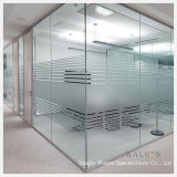 6mm Clear/Frosted Tempered/Toughened Glass Wall/Partition in Office/Hotels