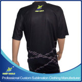 Bowling Sporting Game TeamsおよびClubsのためのカスタムSublimation Bowling T Shirts