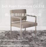 حديثة أثاث لازم [ستينلسّ ستيل فرم] جلد يتعشّى كرسي تثبيت مع متّكأ وقت فراغ كرسي تثبيت