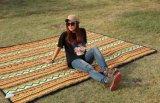 Im Freien kampierende Luft-Bett-Matratze-Strand-Matten-Picknick-Zudecke-Auflage-Doppelt-umweltfreundliche aufblasbare Schlafenstrand-Matten-Heizdecke