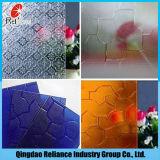 4mm Nashiji, Flora, Karatachi, het Duidelijke Glas van het Patroon Mistlite/Voorgesteld Glas
