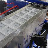 Máquina diretamente evaporada do bloco de gelo de 1 tonelada de China Koller