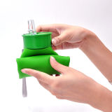 2015 최신 휴대용 Foldable 물병, 실리콘 병