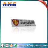 Tag flexível universal do recurso de Polyster RFID do costume durável mini