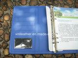 Neuer Form-Leder-Dokumenten-Faltblatt-Ring-Mappen-Konferenz-Halter