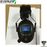 Manicotti blu dell'orecchio del dente dei paraorecchie elettronici ER9230 con la radio di FM ed il MP3
