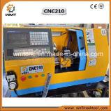 Модель CNC210 с машиной Lathe CNC максимального качания 210mm миниой