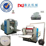 High Production Box Facial Tissue Slitting Folding Face Paper Embossing Machinery
