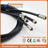 Rg59, RG6, разъем Crimp f коаксиального кабеля Rg11