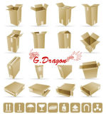 Cardboard Packing Mailing Moving Shipping Boxes Corrugated Cartons (PC020)