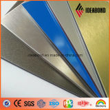De zilveren Glod Geborstelde Kleur Vooraf geverfte Rol van het Aluminium