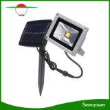 10W Flut-Nachtlicht-wasserdichte im Freiengarten-Dekoration-Landschaftsscheinwerfer-Wand-Lampe der Sonnenenergie-LED