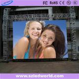 Delgada pantalla Alquiler P4 / Interior Tablero de presentación al aire libre de vídeo LED