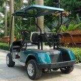 Automobile elettrica di mini golf delle sedi di uso 2 di terreno da golf con CE (DG-C2)