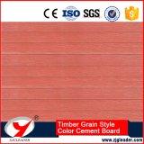 セメントシリーズ材木の穀物様式の外壁の装飾的なボードを着色しなさい