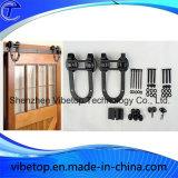 Hardware de acero negro de la puerta de granero de la alta calidad (BDH-07)