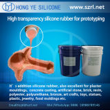 Due Component Silicone Rubber per Rapid Prototyping con Slow Shrinkage