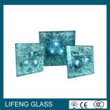 De veiligheid lamineerde Kogelvrij Glas met Certificatie