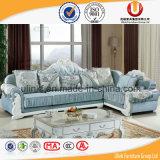 Sofà grigio del tessuto del sofà europeo di stile (UL-Y905A)