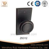 Molette de blocage de porte ronde en alliage de zinc de qualité grande (Z6125)