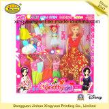 Kleurrijke Verpakkende Doos met het Venster van pvc voor Doll (jhxy-PB0044)