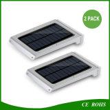 Des Energieeffizienz-an der Wand befestigte Solar20 LED Aluminiumbeleuchtung des heißen im Freien super hellen dünnen Garten-IP65 Licht-