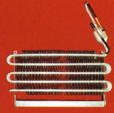 Алюминиевый тип испаритель и конденсатор ребра пробки