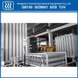 Vaporisateur ambiant de gaz de GNL de Lar de Lo2 Ln2